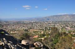 Vista sobre Hemet Fotografia de Stock Royalty Free