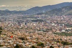Vista sobre Medellin fotografia de stock