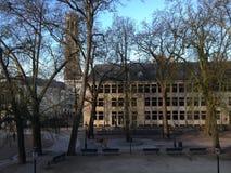 Vista sobre o mercado central em Bruges Fotos de Stock