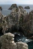 Vista sobre o Oceano Atlântico Imagens de Stock Royalty Free
