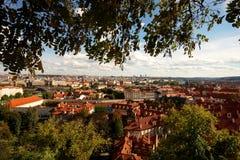 Vista sobre os telhados Imagens de Stock Royalty Free
