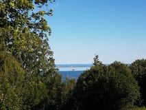 Vista sobre a paisagem Imagens de Stock