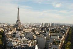 Vista sobre Paris Fotografia de Stock Royalty Free