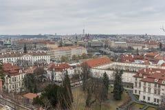 Vista sobre Praga, república checa Imagem de Stock Royalty Free