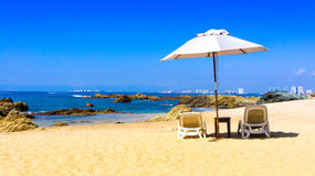 Vista sobre Puerto Vallarta Fotos de Stock Royalty Free