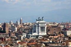 Vista sobre Roma foto de stock