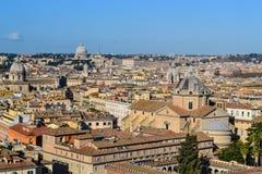 Vista sobre Roma Fotos de Stock