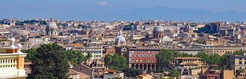 Vista sobre Roma Imagem de Stock Royalty Free