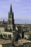 Vista sobre Saint Emilion, França Imagem de Stock Royalty Free