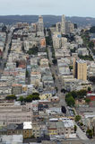 Vista sobre San Francisco de Torre de Coit Imagem de Stock Royalty Free