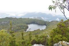 Vista sobre um lago Herbert Imagem de Stock Royalty Free