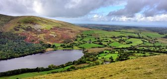 Vista sobre Waterend de Darling Fell Imagens de Stock Royalty Free