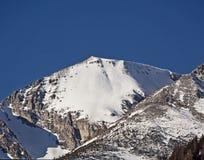 Vista soleggiata delle alpi di Tauern dell'austriaco nell'inverno Fotografia Stock Libera da Diritti