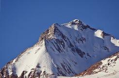 Vista soleggiata delle alpi di Tauern dell'austriaco nell'inverno Immagini Stock Libere da Diritti