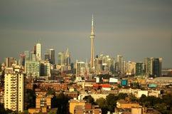 Vista soleggiata su Toronto Fotografia Stock