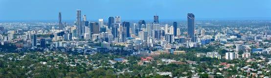 Vista sopra Brisbane, Australia Fotografia Stock Libera da Diritti