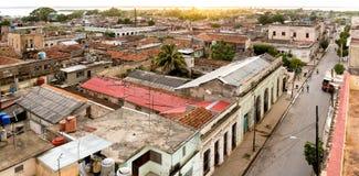 Vista sopra Cienfuegos Fotografia Stock Libera da Diritti