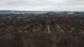vista sopra Hamilton, Ontario di cottura di 4K UltraHD video d archivio