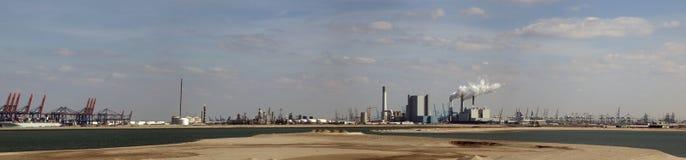 Maasvlakte fotografia stock