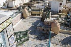 Vista sopra i tetti di Tunisi Fotografie Stock Libere da Diritti