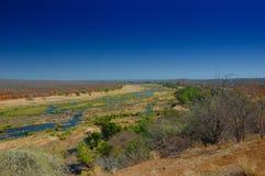 Vista sopra il fiume di Olifants Fotografia Stock Libera da Diritti