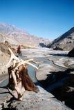 Vista sopra il Kali Gandaki Immagini Stock Libere da Diritti