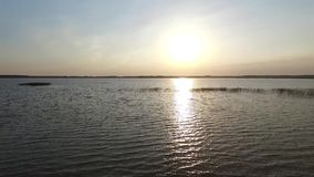 Vista sopra il lago archivi video