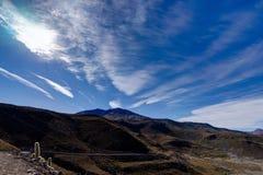 Vista sopra l'Atacama Bolivia del deserto di Altiplano Immagine Stock Libera da Diritti