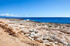 Vista sopra la baia di Baracoa/Cuba Fotografie Stock Libere da Diritti