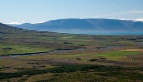 Vista sopra la valle Fotografie Stock Libere da Diritti