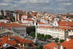 Vista sopra Lisbona Immagini Stock Libere da Diritti