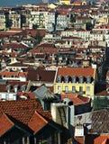 Vista sopra Lissabon Fotografia Stock Libera da Diritti