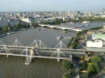 Vista sopra Londra Fotografia Stock