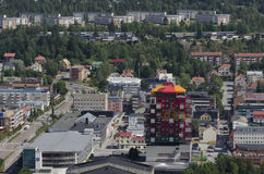 Vista sopra Oernskoldsvik Svezia Immagine Stock Libera da Diritti