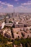 Vista sopra Parigi Fotografia Stock Libera da Diritti