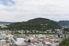 Vista sopra Salisburgo, Austria Immagini Stock