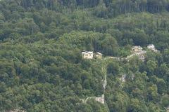Vista sopra Salisburgo, Austria Fotografia Stock