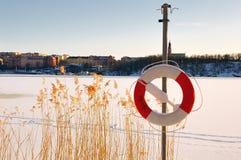 Vista sopra Stoccolma. Immagine Stock