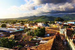 Vista sopra Trinidad, Cuba Fotografia Stock Libera da Diritti