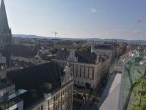 Vista sopra Vienna, Austria Fotografia Stock