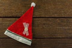 Vista sopraelevata del cappello di Santa Fotografie Stock Libere da Diritti