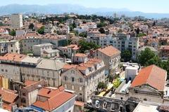 Vista spaccata 9 della città Fotografia Stock