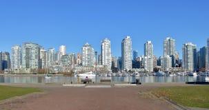 Vista spalancata di Vancouver Canada Fotografia Stock