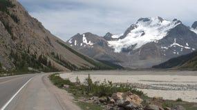 Vista spettacolare Alaska del lago mountain Fotografia Stock