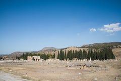 vista spettacolare delle rovine antiche in famoso fotografie stock libere da diritti