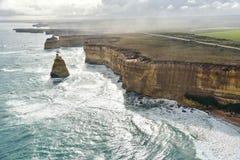 Vista spettacolare di grande strada dell'oceano Immagine Stock Libera da Diritti