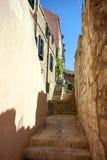 Vista spettacolare in Ragusa Fotografia Stock