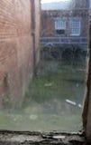 Vista sporca della finestra Fotografia Stock Libera da Diritti
