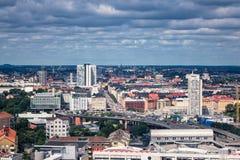 Vista a Stoccolma Fotografia Stock Libera da Diritti