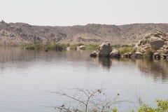 Vista storica del lago Immagini Stock Libere da Diritti